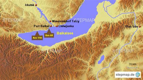 stepmap baikalsee landkarte fuer russland