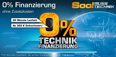 0% Technik Finanzierung bei Saturn