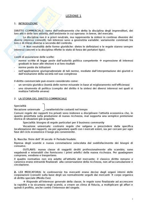 Dispensa Diritto Commerciale by Figure Ed Istituti Diritto Commerciale
