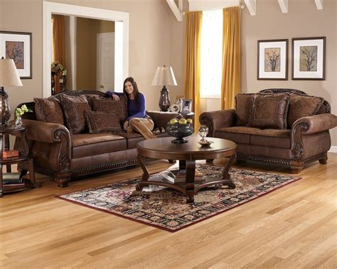 Living Room Sofas And Loveseats by Truffle Traditional Sofa Set World Wood Trim