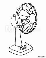 Fan Electric Drawing Vector Clipartmag Adobe sketch template