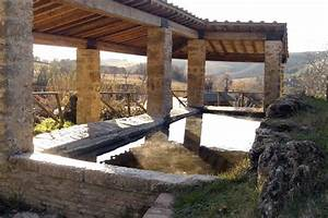 Freie Thermen in der Nähe des Country House Marilena la Casella in Umbrien und in der Toskana