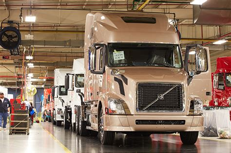 volvo truck manufacturing plants volvo trucks 39 assembly plant in virginia powered by
