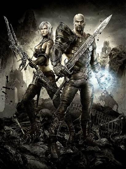 Hunted Forge Elara Demon Lara Fantasy Concept