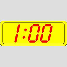 Digital Clock 100 Clip Art At Clkercom  Vector Clip Art Online, Royalty Free & Public Domain