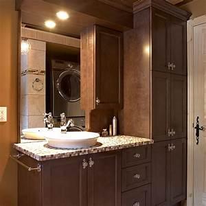 Armoire Salle De Bain Bois : fabricant de salles de bain cuisines beauregard ~ Melissatoandfro.com Idées de Décoration