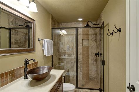 Finished Bathroom Ideas by Warren Ave Basement Finished Basement Company