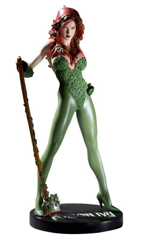 cover girls   dcu poison ivy statue