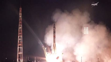 New Crew Launches And Heads To Space Station