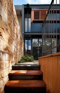 Beautiful, Terrace, House, In, Australia, With, Black, And, Wood