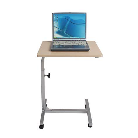 laptop bed desk height adjustable rolling laptop notebook desk bed
