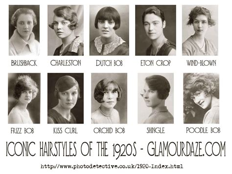 iconic hairstyles of the 1920 s photo wall read more and