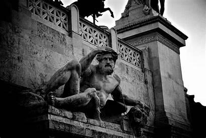 Statue Historical Sculpture Roman Monument Alana Grayscale