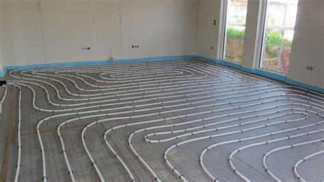 Einbau Der Fußbodenheizung