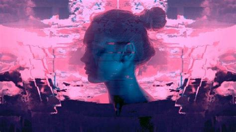 Hd Car Wallpapers 1080p Galaxy Hair by Hair Bun Closed Glitch Vaporwave