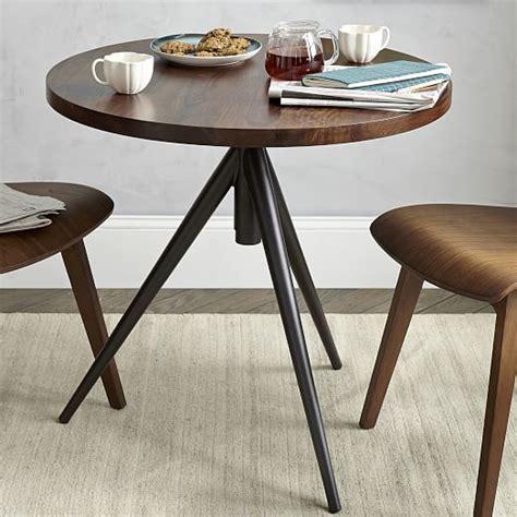 adjustable bistro table west elm