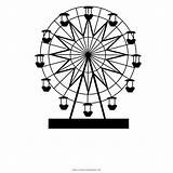 Ferris Wheel London Eye Coloring Drawing Clipart Background Transparent Freepngclipart Hiclipart sketch template