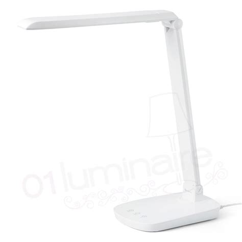 led bureau le bureau anouk led blanc variateur 53414 faro