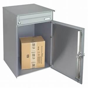 Mülltonnenbox Mit Paketbox : hmf briefkasten paketbriefkasten paketbox mit ~ Michelbontemps.com Haus und Dekorationen