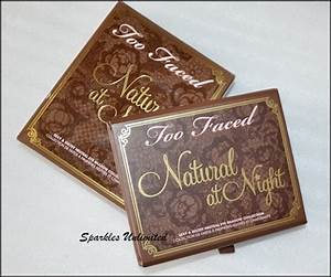 Too Faced Natural at Night Sexy & Sultry Neutral Eyeshadow ...