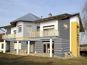 Moderne Hausfassaden Fotos : fassadengestaltung design und farbe mit vorabvisualisierung ~ Orissabook.com Haus und Dekorationen