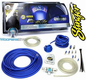 Stinger Shk341 4 Gauge Dual 8 Awg Car Amp Wire Cable Power