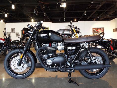 New 2017 Triumph Bonneville T120 Black Motorcycles In San