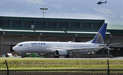 737 Max Boeing United Airlines Maui Grounded