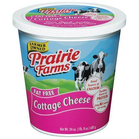 free cottage cheese prairie farms free cottage cheese 24 oz walmart
