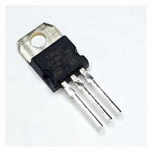 TRANSISTOR TIP122 100V 5A DARLINGTON NPN - Lee's Electronic  Transistor