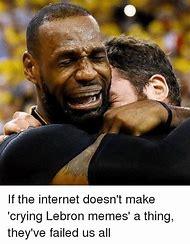 LeBron James Crying Meme
