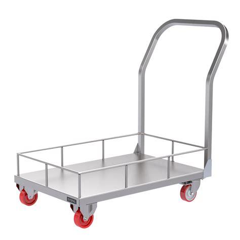 Rimmed Platform Trolley | UK Manufacturer | SYSPAL | UK