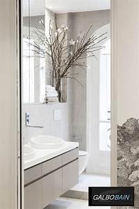 Fenetre Dans Douche : douche devant fen tre et rideau en lin galbobain by libeco galbobain ~ Melissatoandfro.com Idées de Décoration