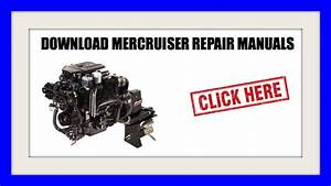 Download Mercruiser Repair Manuals  December 2015