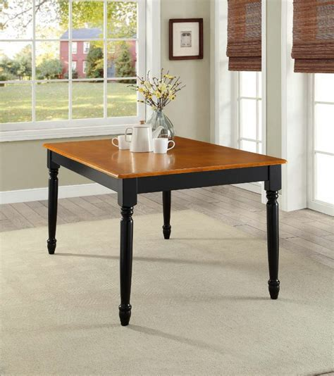 farmhouse dining table kitchen room country durable wood