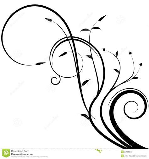 Kleurplaat Sierlijk by Ramo Floral Ilustra 231 227 O Do Vetor Ilustra 231 227 O De Curly