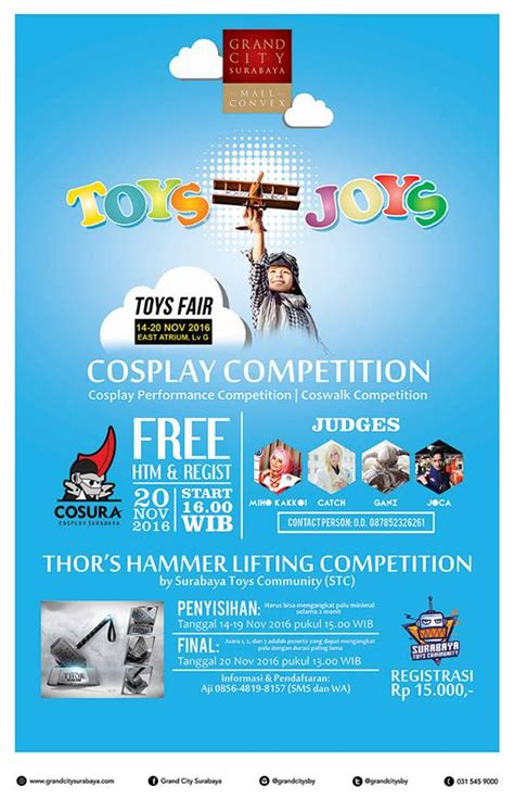 toys joys cosplay competition thor s hammer lifting