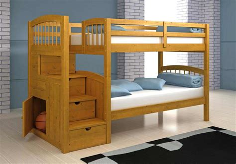 bunk bed free bunk bed building plans bed plans diy blueprints