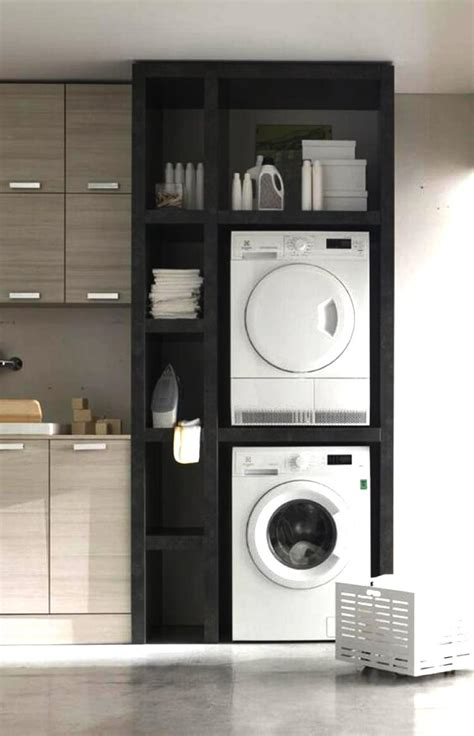 The Kitchen Cupboard by Washing Machine In The Kitchen Spend Space Properly