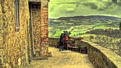 The Val Dorcia Tuscany Italy Unesco World Heritage Site