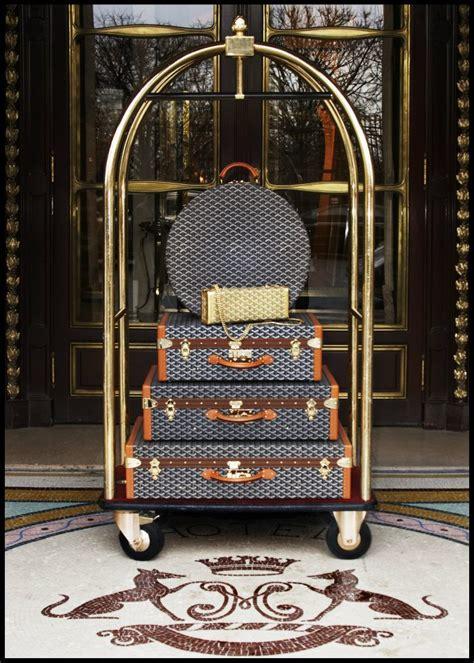goyard luggage luxurycom