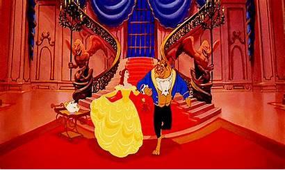 Beast Beauty Disney Gifs Animated Aesthetic Princess