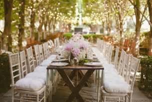 wedding table unforgettable garden wedding decor