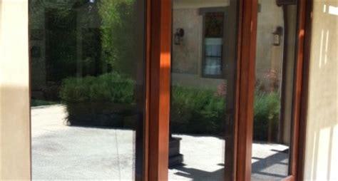 sliding glass door repair tracks pocket patio glass