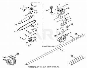 Homelite Ry52004 30cc Gas Pruner  Tp30  Parts Diagram For