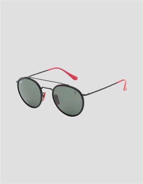 Skip the glare grab a pair of these shades with polarized lenses—no glare, no fuss. Ferrari Black Ray-Ban x Scuderia Ferrari 0RB3647M Man | Scuderia Ferrari Official Store