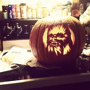 Chewbacca, Pumpkin, Carving