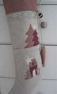 Nikolausstiefel Zum Befüllen : gro er weihnachts nikolausstiefel zum bef llen verziert mit kl ppelspitze einer taschen mit ~ Orissabook.com Haus und Dekorationen