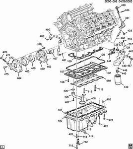 2004 Cadillac Srx Base 4dr Adapter  Engine Oil Filter