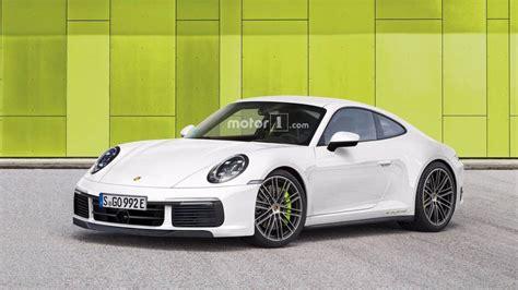 new porsche 911 new porsche 911 imagined in hybrid turbo and cabrio trims